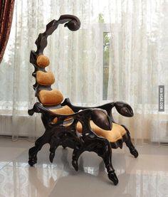 La silla perfecta para mi suegra... Jajaja!!