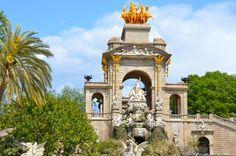 #Barcelona #park #walk #picnic #greenery #Bonavista #trees #palmtrees #watersource #CiutadellaPark #ParcdelaCiutadella