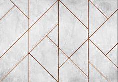Geometric Concrete by Coordonne - Copper - Mural : Wallpaper Direct - Coordonne Geometric Concrete Copper Mural main image - Feature Wall Design, Wall Panel Design, Main Image, Decorative Wall Panels, Wallpaper Direct, Wall Cladding, Geometric Wall, Wall Patterns, Küchen Design