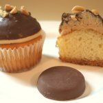 Girl Scout cookie cupcake recipe – Peanut Butter Patties (a.k.a. Tagalongs)