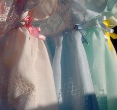 Burano Pastel Lace Dresses <3