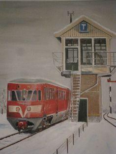 Diesel in the snow