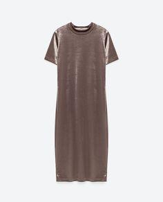 Image 8 of VELVET DRESS from Zara