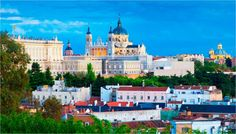 Business Greeting Cards, Holiday Cards, Corporate Holiday Cards, and Madrid Skyline, Corporate Holiday Cards, South Of Spain, European Destination, City Art, Around The Worlds, Tours, Adventure, Places