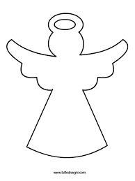 Risultati immagini per disegni angeli natale