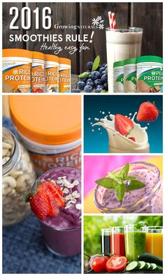 Growing Naturals - Protein Powder Recipes - Protein Smoothie Recipes  http://growingnaturals.com/recipes/protein-shakes/