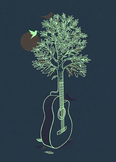 i made a tree-guitar in a sketch book once...i should find it. i need to make my work digital.