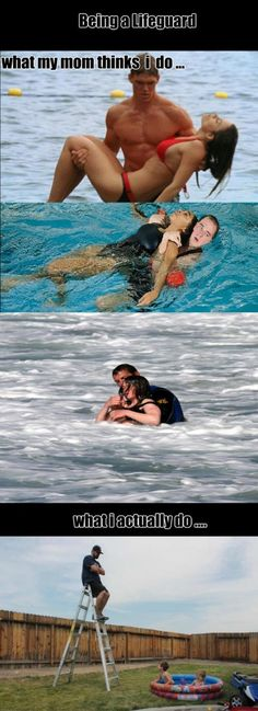 Funny pictures about The Lifeguard Life. Oh, and cool pics about The Lifeguard Life. Also, The Lifeguard Life photos. Funny Shit, Funny Cute, Funny Posts, The Funny, Funny Stuff, Funny Humor, Funny Things, Funny Images, Best Funny Pictures
