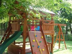 cute backyards for kids | Backyards For Kids Playhouses Sandboxes Tree Forts Swing Sets