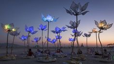 """michael christian"" sculpture flower - Google Search"