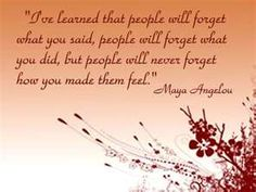 What a phenomenal woman~Maya Angelou