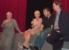 Tim Roth & Helen Mirren introducing a screening of The cook, the thief, his wife and her lover at the 2004 Paris cinema film festival as a tribute to Peter Greenway