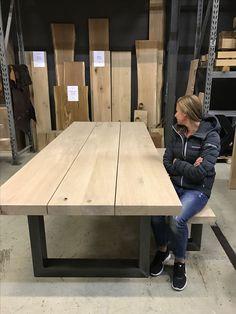 Table et banc (leveninstijl.nl) #leveninstijl #table