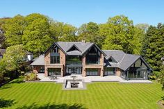 6 bedroom detached house for sale in Fabulous contemporary house in beautiful one acre garden on Leycester Road, Knutsford , WA16 Building Design, Building A House, Self Build Houses, Dream House Exterior, House Extensions, House Goals, Modern House Design, Detached House, Home Fashion
