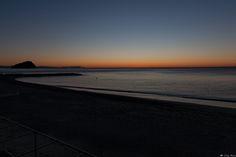 l'alba del giorno dopo - dopo la giornata trascorsa a Genova, siamo andati a dormire nella casa di Spotorno... e il mattino dopo solo uno si è svegliato all'alba.