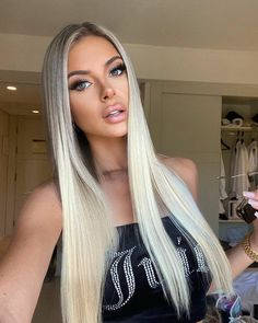 Beauty Works Hair Extensions, Clip In Extensions, Ice Blonde, Styling Tools, Hair Goals, New Hair, Hair Care, Long Hair Styles, Face