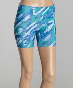 Look at this Catalina Blue Compass Shorts on #zulily today!