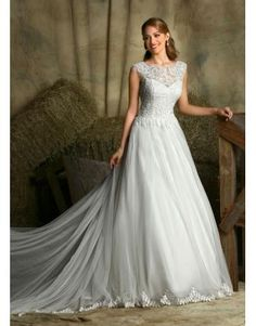Princesové Lodičkový výstřih Zip Designer Svatební šaty