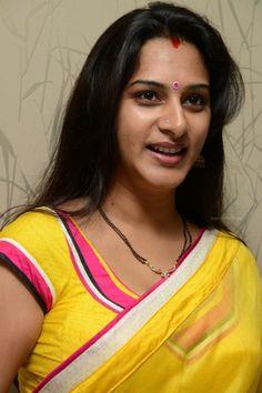 Actress Surekha Vani in Saree At Yevadu Telugu Movie Press Meet