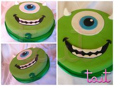 #Tortas #Cake #MikeWazowky #MonsterInc #TaitEventos