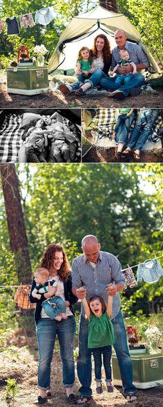 Knol family camping photo shoot @Lindsay Gallagher Smith