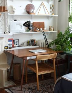 Home office / studio workspace