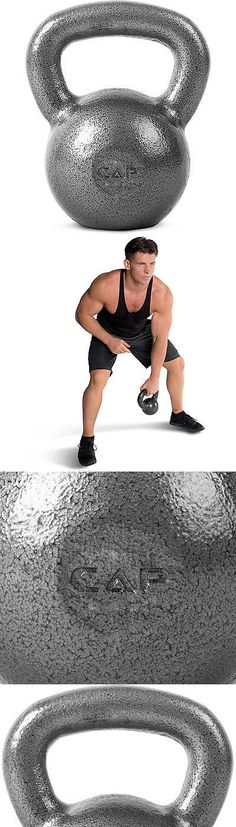 Kettlebells 179814: Cap Barbell Cast Iron Kettlebell 60 Lbs Build Muscle Tighten Tone BUY IT NOW ONLY: $82.0