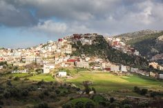 A pilgrimage to visit Moulay Idriss, Morocco