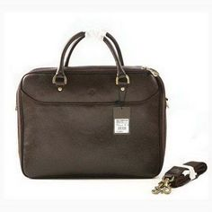 04a94f8671 New Fashion Mulberry Oliver Briefcase Natural Leather Chocolate sale Cheap  Handbags