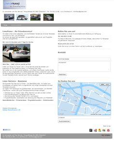 Limousinenservice, Taxi, Chauffeurservice, Taxiunternehmen