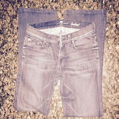 """Seven for all mankind boot cut  *FINAL REDUCTION Seven for all mankind boot cut size 26. Inseam 29"""". Good condition. 7 for all Mankind Jeans Boot Cut"""