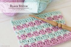 ~How To: Crochet The Block Stitch - Easy Tutorial                                                                                                                                                                                 More