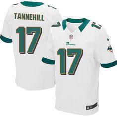 5319604fd Ryan Tannehill Jersey Men s Nike Miami Dolphins  17 Elite White Jersey
