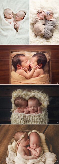 Born Together, Friends Forever! 16 Heart-Melting Newborn Photos of Multiples - Baby - Newborn Photography Newborn Bebe, Foto Newborn, Newborn Twins, Newborn Poses, Newborn Shoot, Baby Twins, Newborns, Twin Baby Photos, Newborn Pictures
