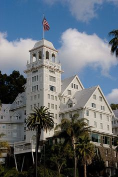 Claremont Hotel, Berkeley-lovely old rooms and the elevator smelled like the spa :)