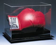 Boxing Acrylic Display Cases