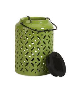 Small Ceramic Candle Lantern - statementmade.com