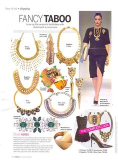 Yell from between the legendary pages of Femina style