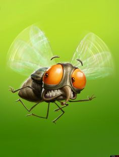 "Agency: Fisher Client:Mat inset Art Director: Michel El Chemorr Project made for a insecticide brand ""Mat inset, including the concept and the final painting of the characters. Made with photoshop and some zbrush textures. Cartoon Pics, Cartoon Drawings, Cartoon Art, Art Drawings, Cute Illustration, Character Illustration, Comic Art, Character Art, Character Design"