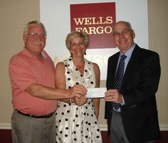 Ken & Robyn Greger donate to the community college campus.