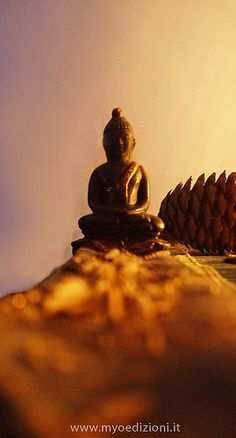 Little #Buddha at the end of the incense. #photography