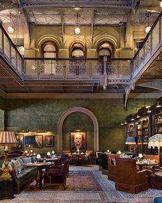 Greatness and elegance of Beekman hotel in New York | PUFIK. Beautiful Interiors. Online Magazine