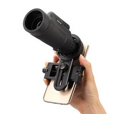 Enlarge Universal 12x50 Hiking Concert Camera Lens Telescope Monocular With No Holder For Smartphone Free Shipping DHL