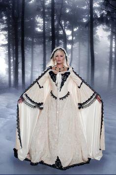 Gothic Velvet 4 Piece Fantasy Set Cape Custom Wedding Dress  $1,250.00