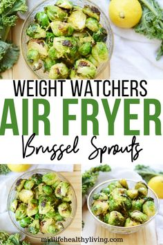 WW Air Fryer Brussel Sprouts
