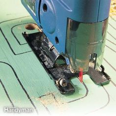 a jigsaw is the grand master of cutting shapes in a variety of materials. all you need is the right blade. we