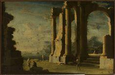 Leonardo Coccorante, Zatoka morska, XVII/XVIII w.
