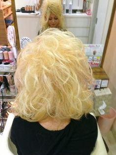 Bleach Blonde, Retro Hairstyles, Big Hair, Hair Dos, Curls, Curly Hair Styles, Hair Makeup, Hair Color, Beauty