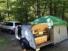 Teardrop Trailer Camping Tent