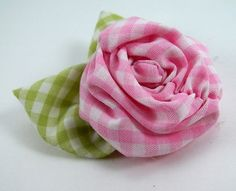 Ruched Roses PDF Tutorial no. 14 ...  di SundayGirlDesigns su Etsy, $6.00